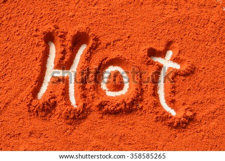 Hot in pepper