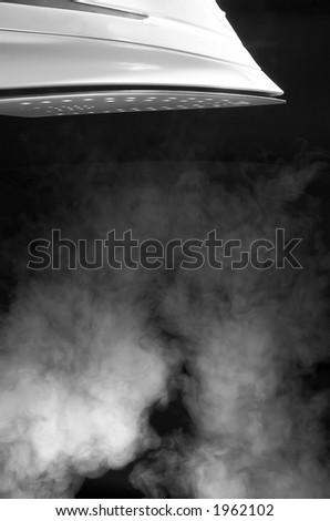 Hot Iron - stock photo