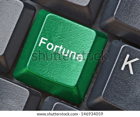 Hot key for fortune