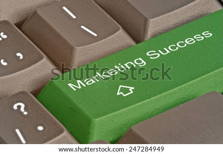 Hot key for marketing success