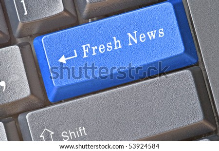 Hot keys for fresh news