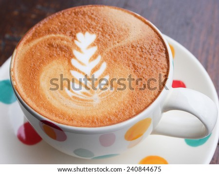 Hot Latte is good for your morning