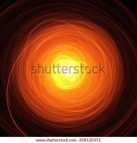 hot light for reincarnation - stock photo