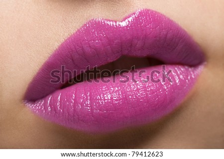 Hot Lips - stock photo