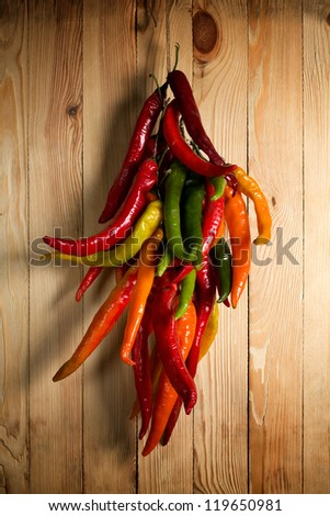 Hot pepper - stock photo
