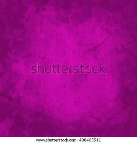 hot pink background with bright neon coloring and black vignette shading on border of frame design with copy space and dramatic lighting in center