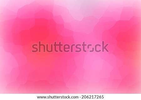 Hot Pink Mosaic Abstract Background