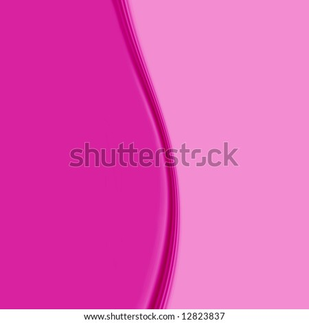 Hot Pink Wave - stock photo