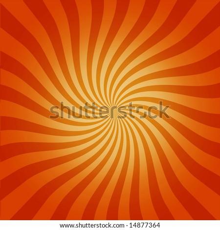 Hot Retro Twirl - stock photo