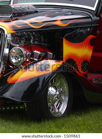 Hot Rod - stock photo