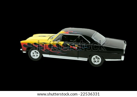 Hot Rod replica - stock photo