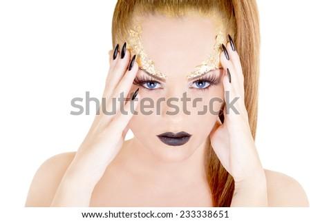 Hot sexy woman  - stock photo