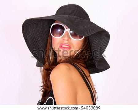 Hot summer girl - stock photo