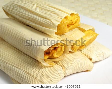 Hot Tamales - stock photo