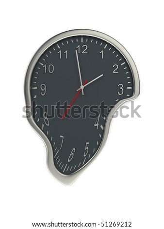 Hot time concept - stock photo