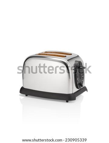 Hot toaster. - stock photo