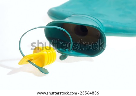 hot-water bottle - stock photo