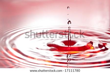 hot waves - stock photo