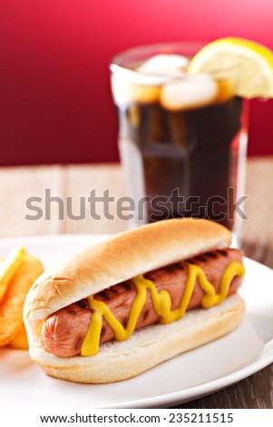 Hotdog - stock photo