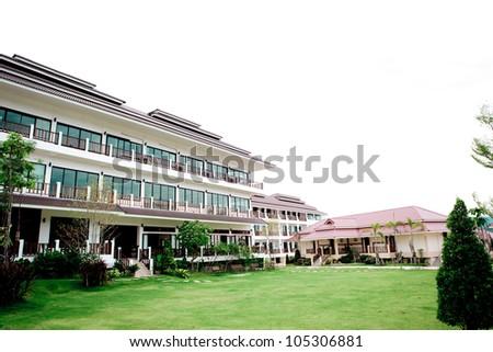Hotel - stock photo
