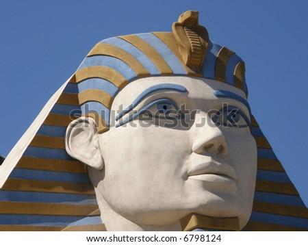 Hotel & Casino in Las Vegas / Sphinx - stock photo