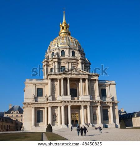 Hotel des Invalides, in Paris, France - stock photo