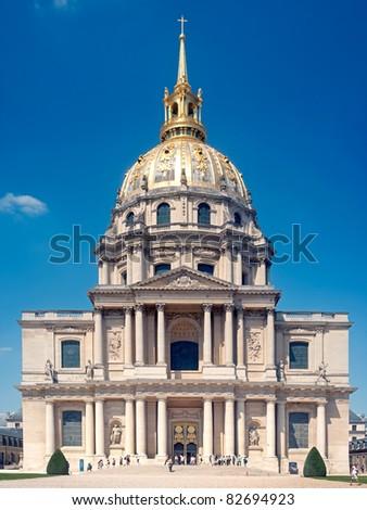 Hotel des Invalides - Paris - stock photo