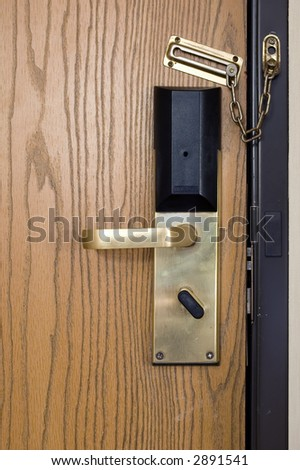 Hotel Door #448 - stock photo