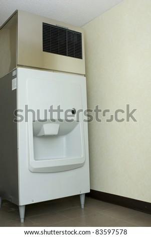 Hotel Ice machine - stock photo