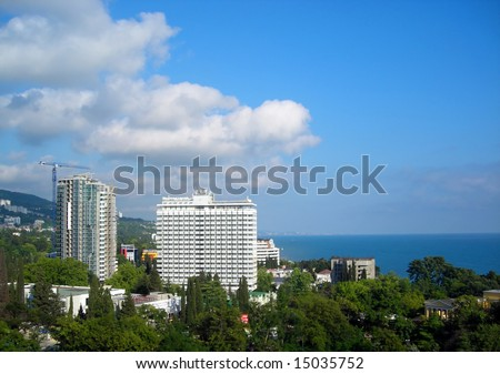 Hotel in a city of Sochi