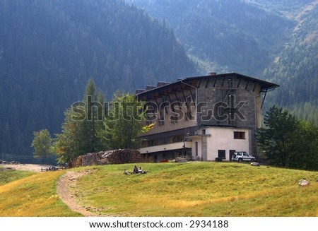 Hotel in Tatry Mountains