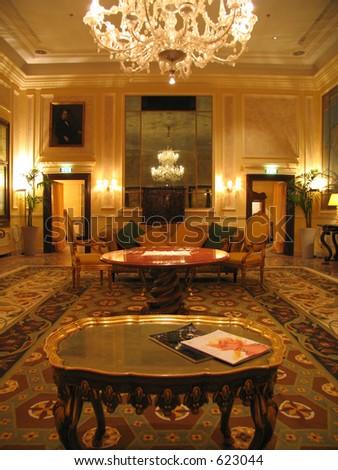 Hotel in Venice - stock photo