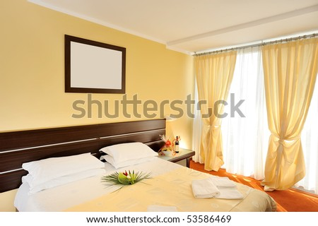 Hotel room - stock photo