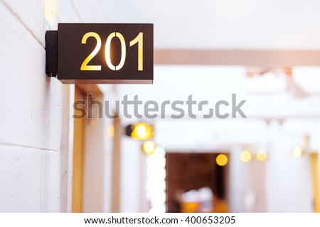 Hotel Room Door Stock Images Royalty Free Images