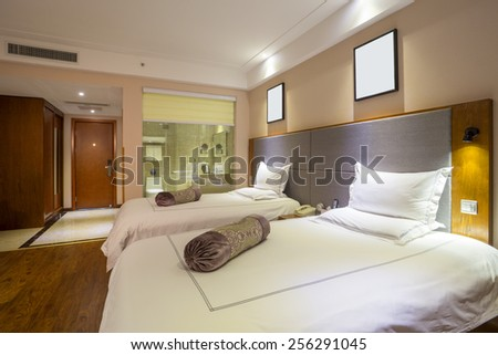 Hotel Rooms - stock photo
