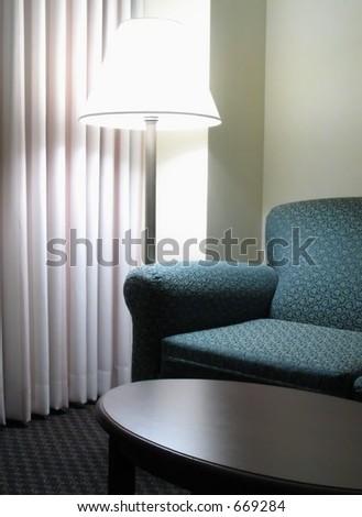 Hotel Sofa - stock photo