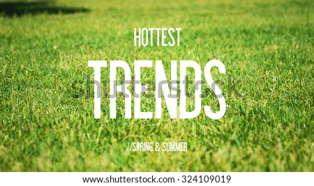 HOTTEST - TRENDS - SPRING & SUMMER