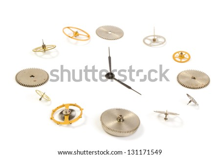 Hours close up - stock photo