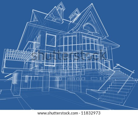 House Blueprint Stock Photos, House Blueprint Stock Photography