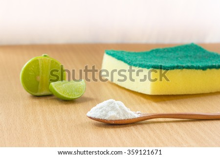 house care natural healthy cleaning - stock photo