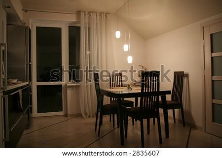House classic interior - stock photo