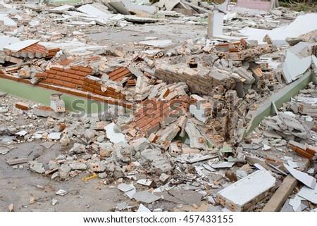 House Destruction - stock photo