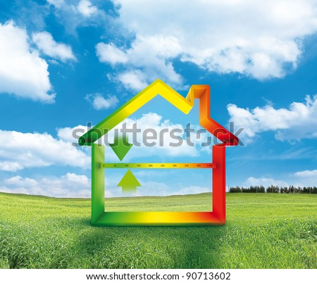 House Efficiency - stock photo