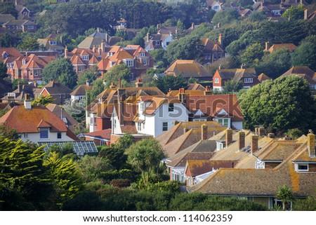 house exterior view - stock photo