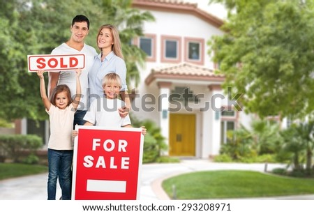 House, Family, Residential Structure.