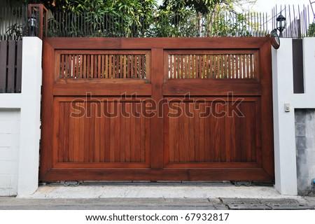House Gateway - stock photo