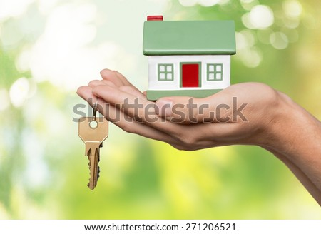 House, Home Interior, Residential Structure. - stock photo