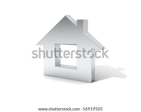 House icon - stock photo