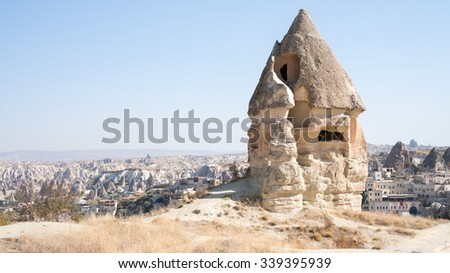 House in Cappadocia - stock photo