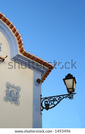 House in Ericeira - Portugal - stock photo